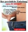 sano-fit WEIGHT - Einladung